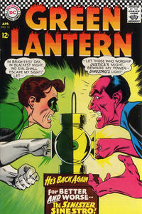 Cover Thumbnail for Green Lantern (DC, 1960 series) #52