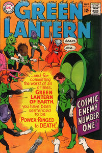 Cover Thumbnail for Green Lantern (DC, 1960 series) #55