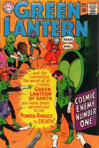 Cover Thumbnail for Green Lantern (DC, 1960 series) #55