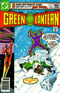 Cover for Green Lantern (DC, 1976 series) #134 [Direct Sales]