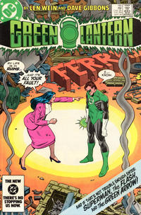 Cover for Green Lantern (DC, 1976 series) #180 [Newsstand]