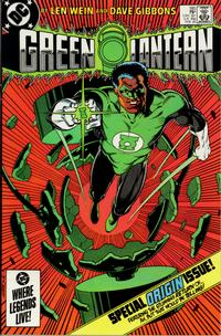 Cover for Green Lantern (DC, 1976 series) #185 [Direct Edition]