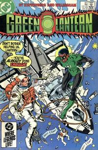 Cover Thumbnail for Green Lantern (DC, 1976 series) #187 [Direct Edition]