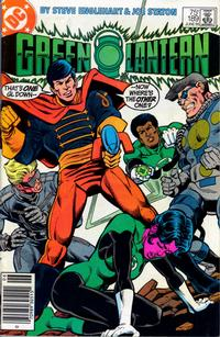 Cover Thumbnail for Green Lantern (DC, 1976 series) #189 [Newsstand]