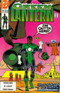 Cover Thumbnail for Green Lantern (DC, 1990 series) #17 [Direct]