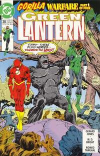 Cover Thumbnail for Green Lantern (DC, 1990 series) #30 [Direct]