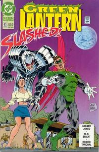 Cover Thumbnail for Green Lantern (DC, 1990 series) #41 [Direct]