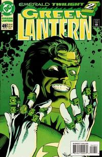 Cover Thumbnail for Green Lantern (DC, 1990 series) #49 [Direct Sales]