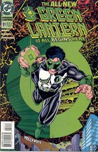 Cover Thumbnail for Green Lantern (DC, 1990 series) #51 [Direct Sales]