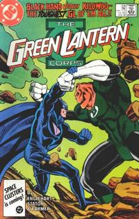 Cover Thumbnail for The Green Lantern Corps (DC, 1986 series) #206 [Direct Edition]