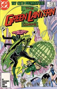 Cover Thumbnail for The Green Lantern Corps (DC, 1986 series) #214 [Direct Edition]