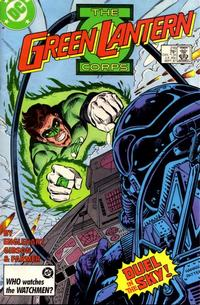 Cover Thumbnail for The Green Lantern Corps (DC, 1986 series) #216 [Direct Sales]
