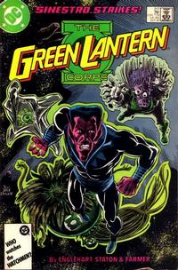 Cover Thumbnail for The Green Lantern Corps (DC, 1986 series) #217 [Direct Edition]