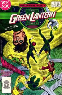 Cover Thumbnail for The Green Lantern Corps (DC, 1986 series) #221 [Direct Edition]
