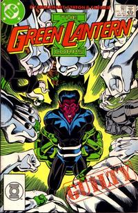 Cover Thumbnail for The Green Lantern Corps (DC, 1986 series) #222 [Direct Edition]