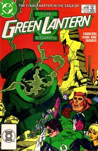 Cover Thumbnail for The Green Lantern Corps (DC, 1986 series) #224 [Direct]
