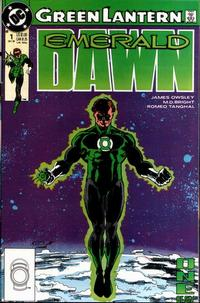 Cover Thumbnail for Green Lantern: Emerald Dawn (DC, 1989 series) #1 [Direct]