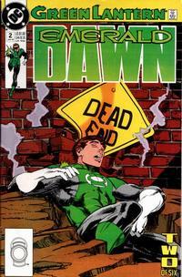 Cover Thumbnail for Green Lantern: Emerald Dawn (DC, 1989 series) #2 [Direct]