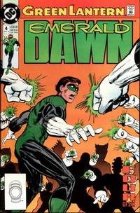 Cover Thumbnail for Green Lantern: Emerald Dawn (DC, 1989 series) #4 [Direct]