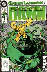 Cover Thumbnail for Green Lantern: Emerald Dawn (DC, 1989 series) #5 [Direct]