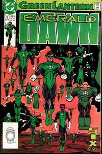 Cover Thumbnail for Green Lantern: Emerald Dawn (DC, 1989 series) #6 [Direct]