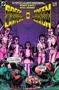 Cover Thumbnail for Green Lantern / Green Arrow (DC, 1983 series) #4