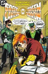 Cover Thumbnail for Green Lantern / Green Arrow (DC, 1983 series) #5