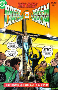 Cover Thumbnail for Green Lantern / Green Arrow (DC, 1983 series) #7