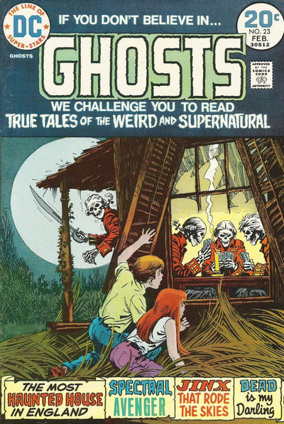 Cover for Ghosts (DC, 1971 series) #23