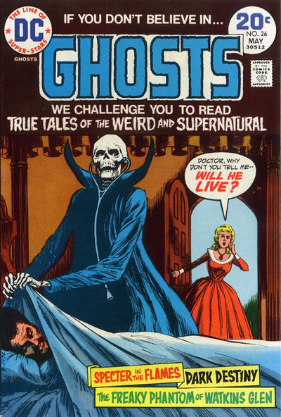 Cover for Ghosts (DC, 1971 series) #26