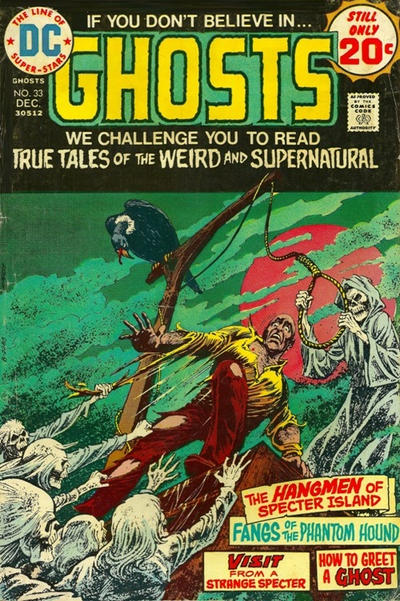 Cover for Ghosts (DC, 1971 series) #33