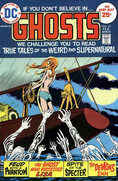 Cover for Ghosts (DC, 1971 series) #35