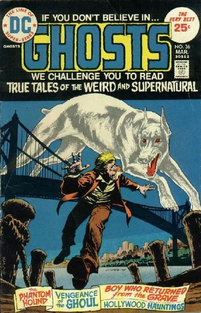 Cover for Ghosts (DC, 1971 series) #36