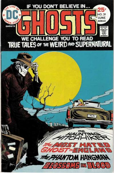 Cover for Ghosts (DC, 1971 series) #39
