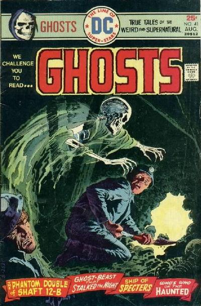 Cover for Ghosts (DC, 1971 series) #41