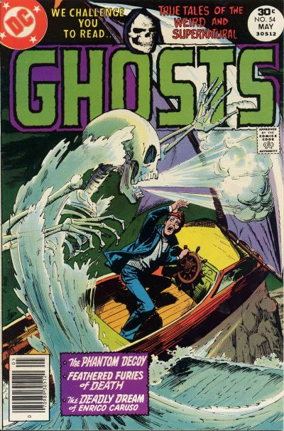Cover for Ghosts (DC, 1971 series) #54