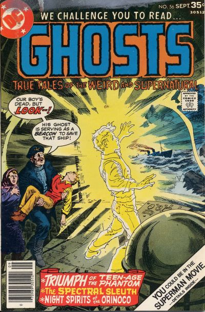 Cover for Ghosts (DC, 1971 series) #56