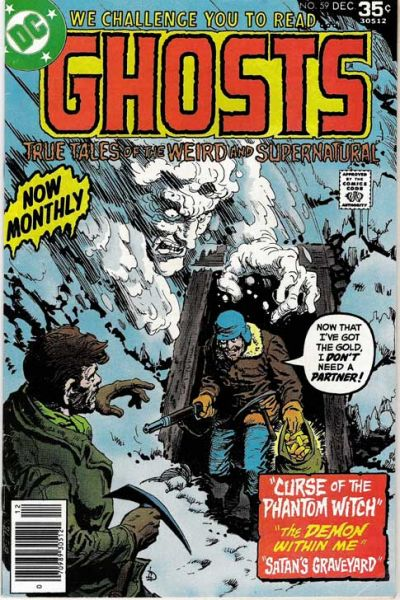 Cover for Ghosts (DC, 1971 series) #59