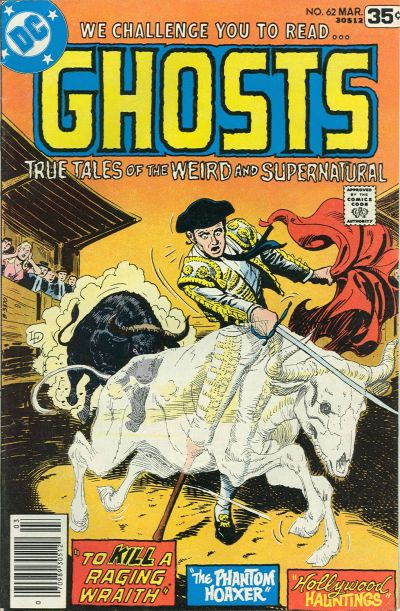 Cover for Ghosts (DC, 1971 series) #62