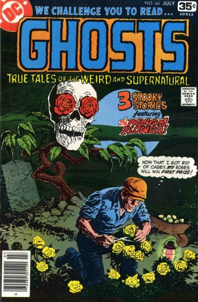 Cover for Ghosts (DC, 1971 series) #66