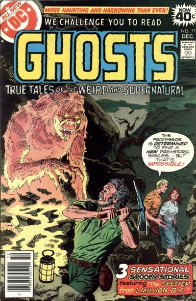 Cover for Ghosts (DC, 1971 series) #71
