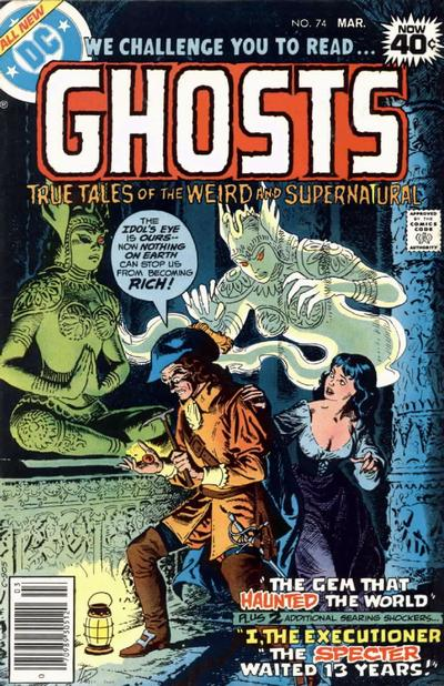Cover for Ghosts (DC, 1971 series) #74