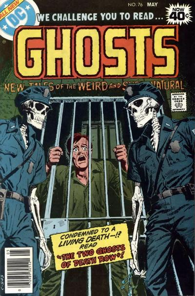 Cover for Ghosts (DC, 1971 series) #76
