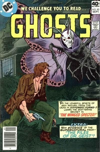 Cover for Ghosts (DC, 1971 series) #80