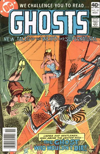 Cover for Ghosts (DC, 1971 series) #82