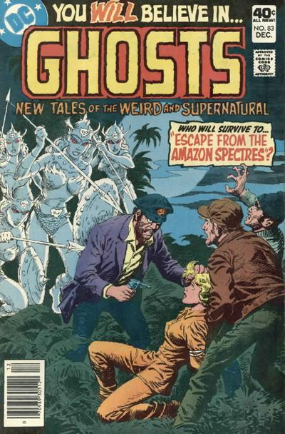 Cover for Ghosts (DC, 1971 series) #83