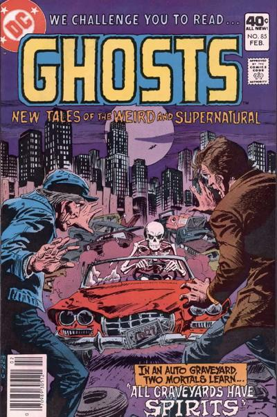 Cover for Ghosts (DC, 1971 series) #85