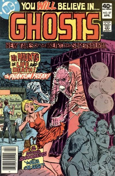 Cover for Ghosts (DC, 1971 series) #87
