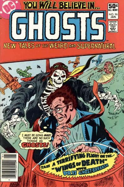 Cover for Ghosts (DC, 1971 series) #96 [Direct]