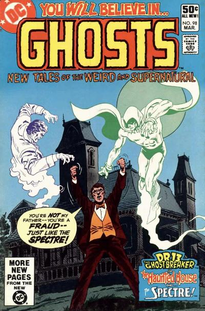 Cover for Ghosts (DC, 1971 series) #98 [Direct]